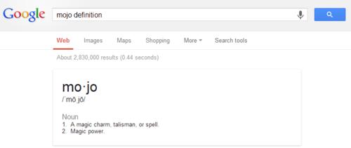 Mojo definition   Google Search